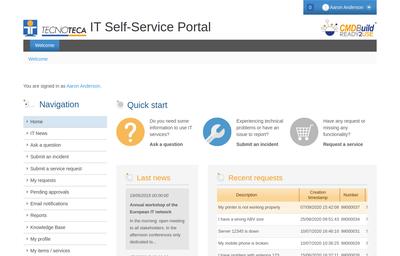 IT Serif-Service Portal